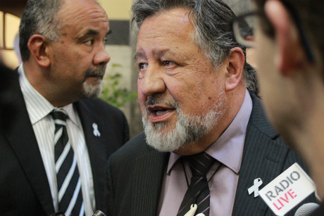 Maori Affairs Minister Pita Sharples (Photo: Frank Solomona)